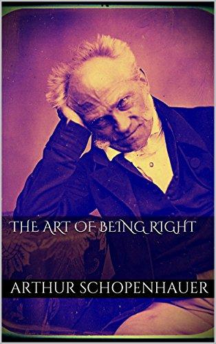 the art of being right arthur schopenhauer buy