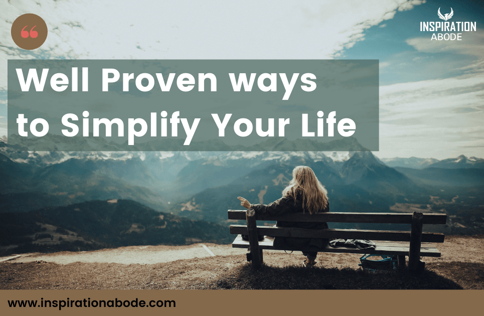 8 Steps To Live A Simple Life