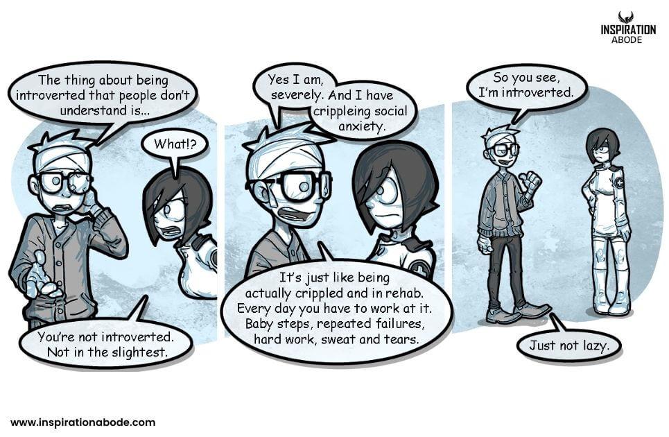 introvert traits