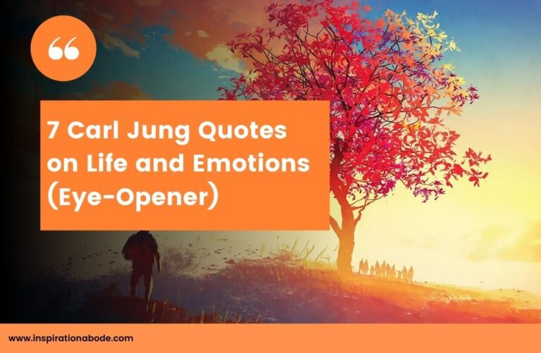 7 Rare Carl Jung Quotes on Life and Emotions