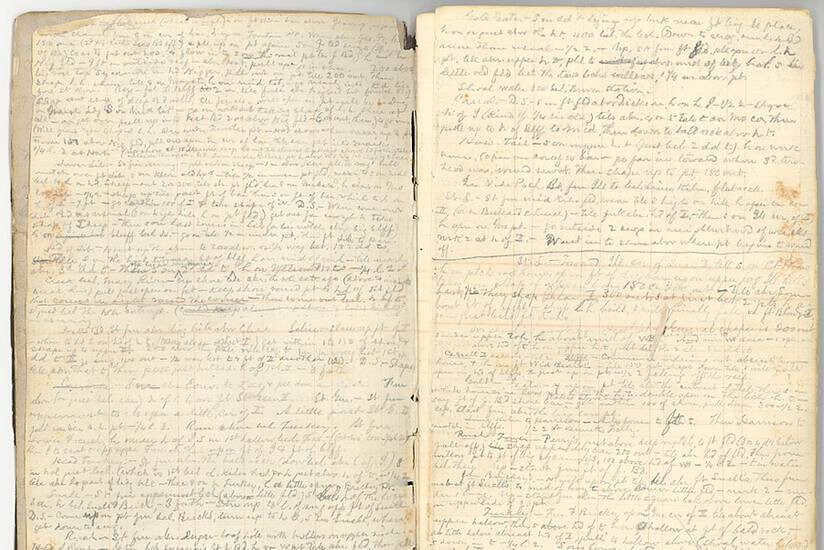 Mark twain personal diary and journal