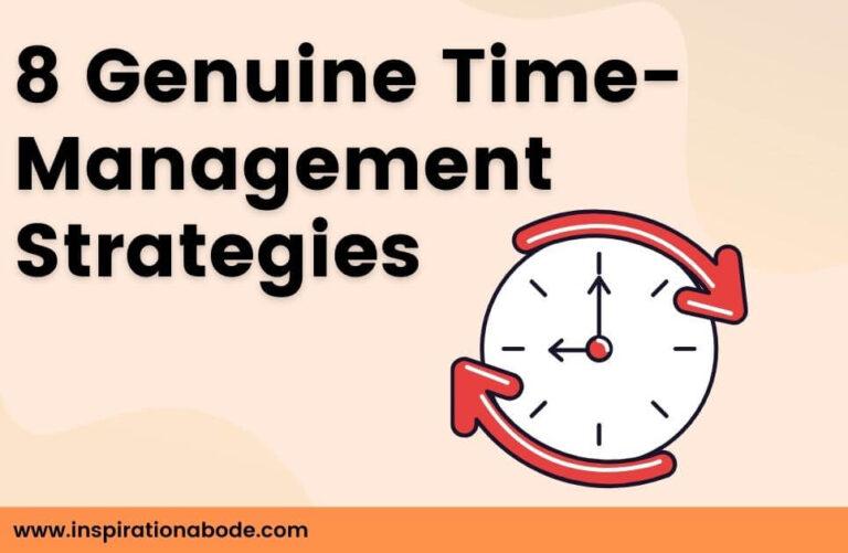 8 Powerful time management techniques (explained)