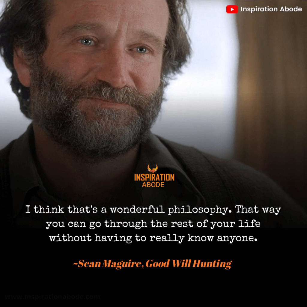good will hunting quotes robin williams
